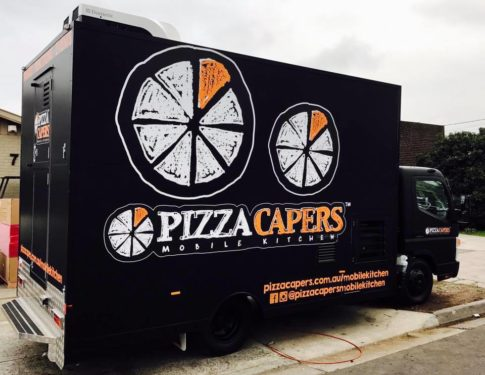 Pizza Capers Food Truck