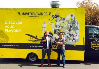Joe O'Keefe Jr. – Maverick Wings Food Truck