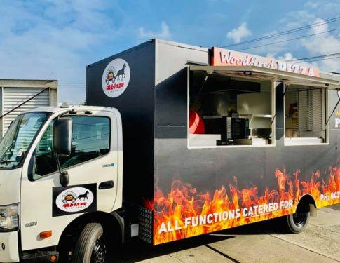 ABLAZE Pizza Food Truck